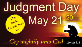 judgement day 21 may 2011